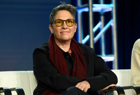 """Transparent"" creator Jill Soloway talked about the decision to conclude the Amazon series with a movie musical at the Television Critics Association Wednesday."