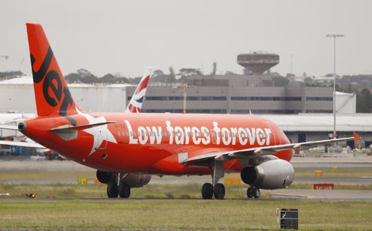 """A passenger on the the low-cost Australian airline Jetstar says one of its flight attendants """"slut-shamed"""" her over her travel attire last week."""