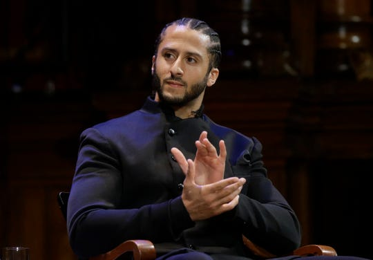 Colin Kaepernick was among more than two dozen prominent black Americans to be included in a Black History Month resolution from the Wisconsin state Assembly, but Republicans blocked the resolution until black Democratic lawmakers agreed to remove the quarterback's name.