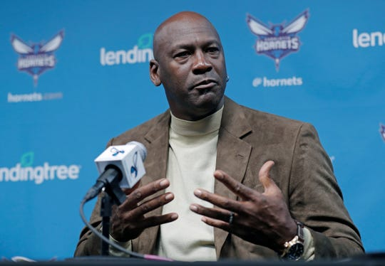 Charlotte Hornets owner Michael Jordan