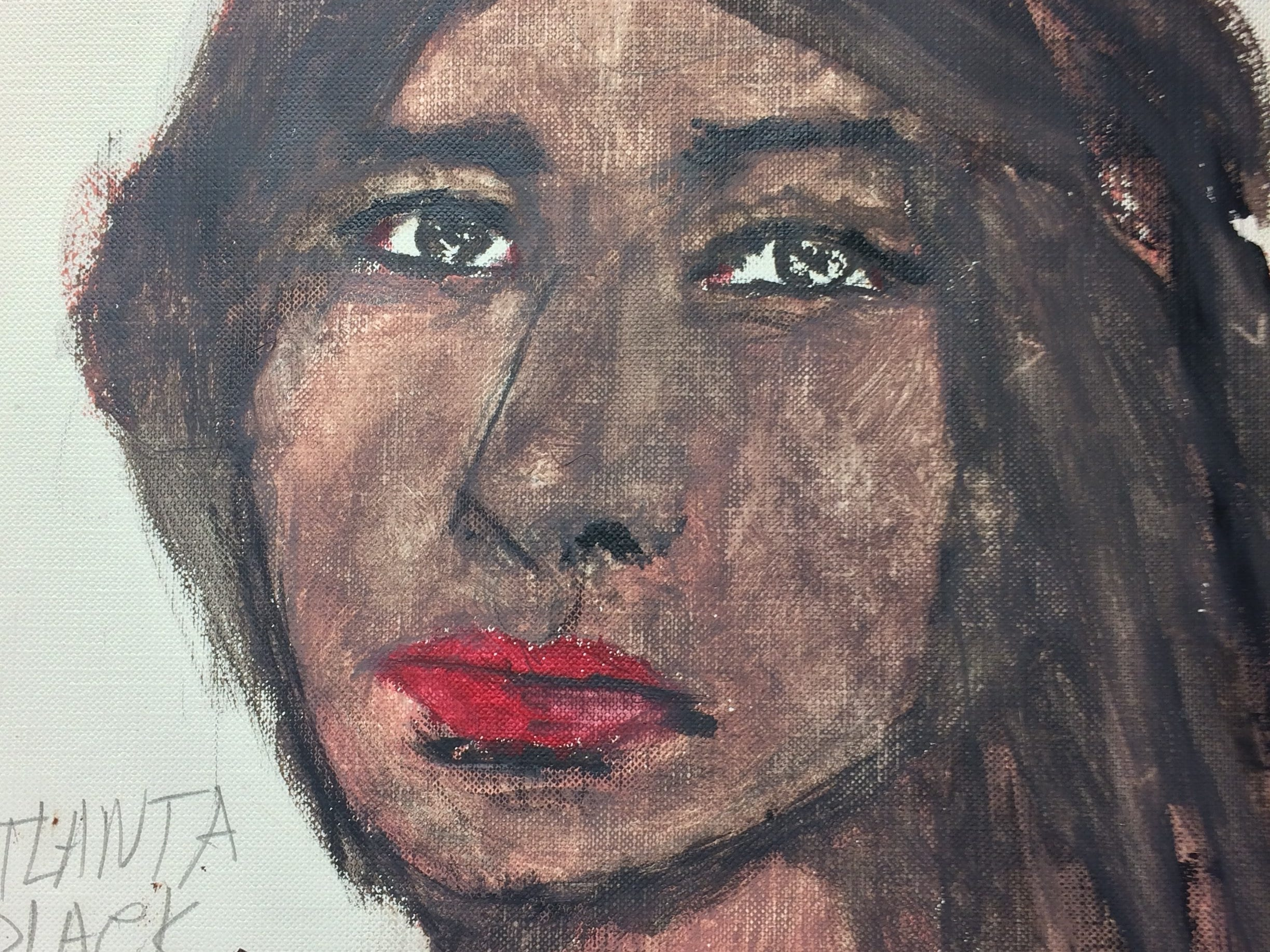 Serial killer Samuel Little drew this woman who he says he murdered in 1981 in Atlanta, Georgia.