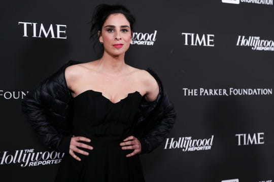 Sarah Silverman attends the Sean Penn J/P HRO gala benefiting J/P Haitian Relief Organization and a coalition of disaster relief organizations on Jan. 5, 2019 in Los Angeles.