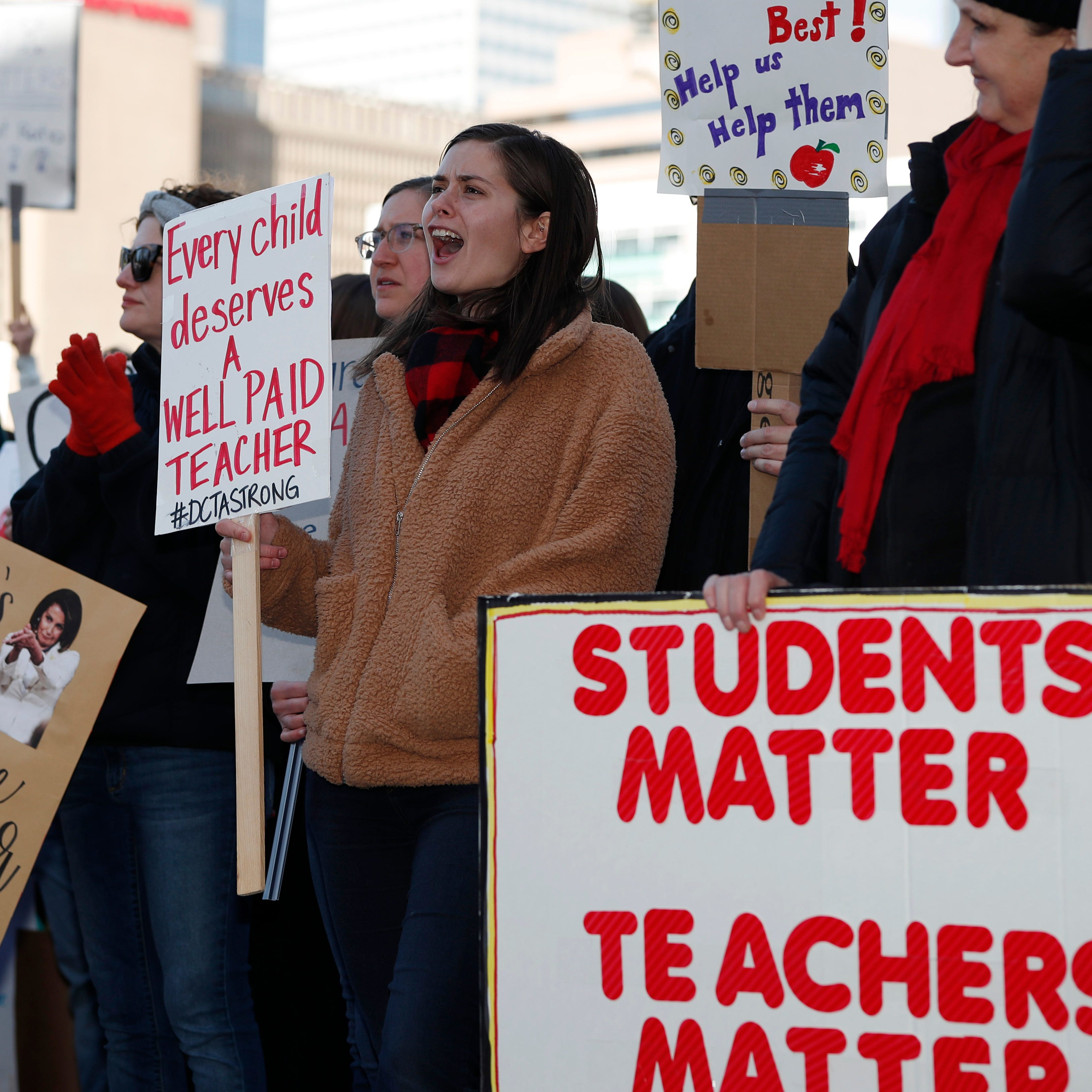 Iowa's teachers will walk to Minnesota, walk to retirement or walk to the picket line