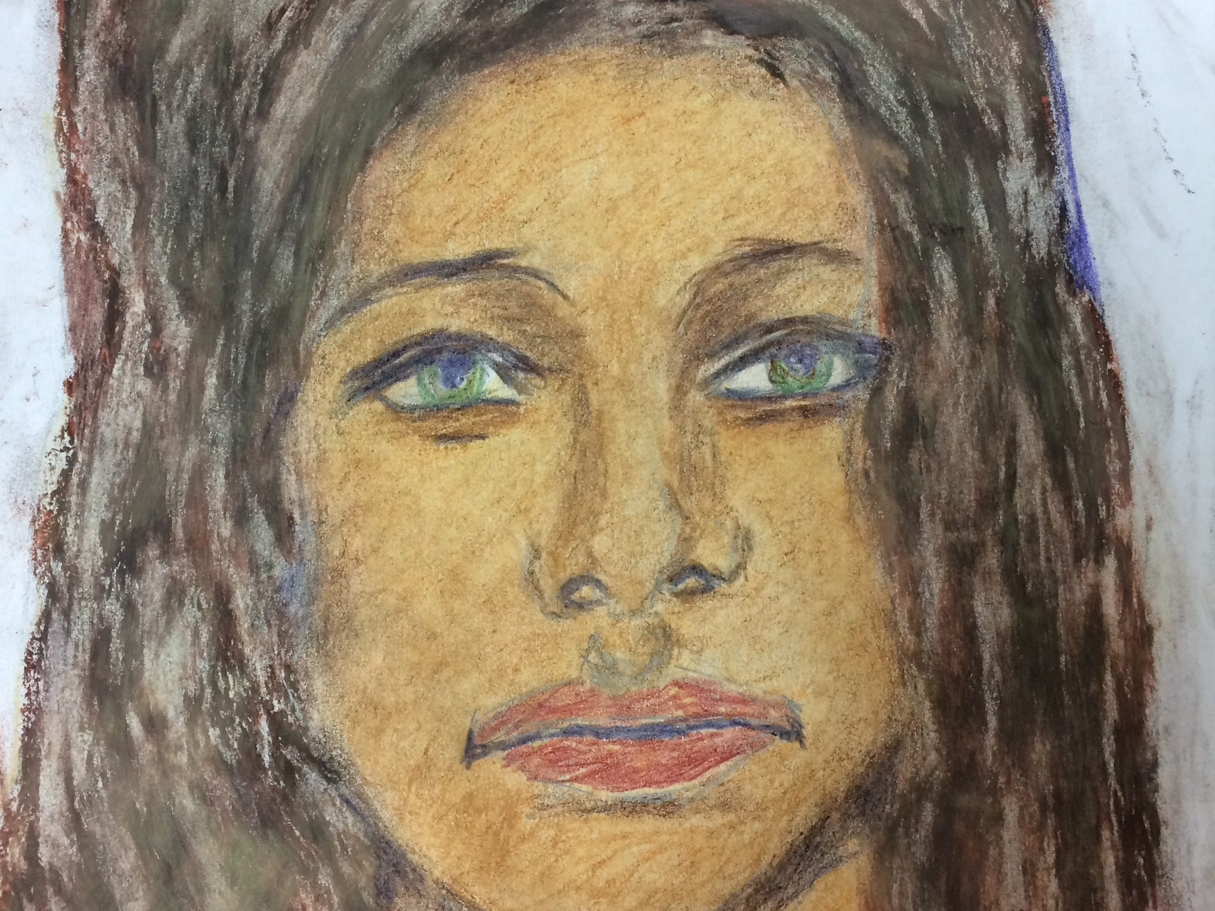 Serial killer Samuel Little drew this woman who he says he murdered in 1972 in Maryland. Little told authorities she was a white female who was between 20 to 25 years old and possibly from Massachusetts. This portrait was linked to a cold case of an unidentified woman found killed in Prince George's County. She has not yet been identified.