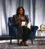 "Former first lady Michelle Obama made a stop in Phoenix for her ""Becoming"" book tour"
