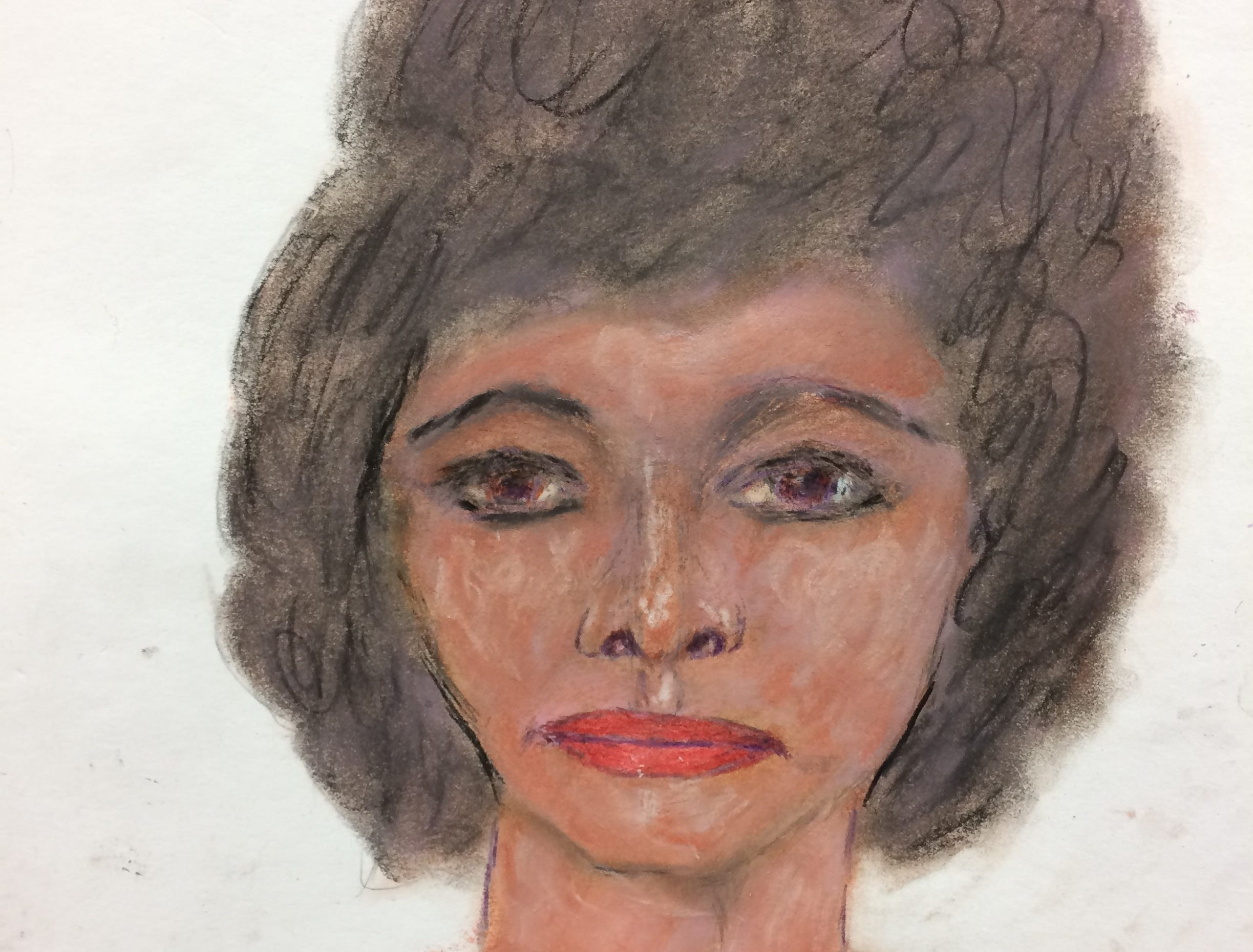 Serial killer Samuel Little drew this woman who he says he murdered in 1984 in Arkansas. Little told authorities she was either 28 or 29  years old and he'd picked her up in Memphis Tennessee. This portrait helped link Little to a body found in West Memphis but the woman's body has yet to be identified.