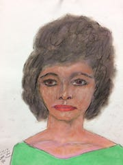 Serial killer Samuel Little drew this woman who he says he murdered in 1984 in Arkansas. Little told authorities she was either 28 or 29 years old and he'd picked her up in Memphis.