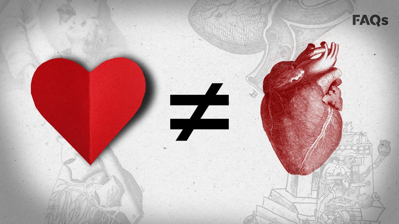 Valentine's Day: Why the heart icon looks nothing like a human organ