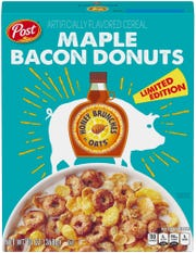 Maple Bacon Donuts Honey Bunches of Oats.