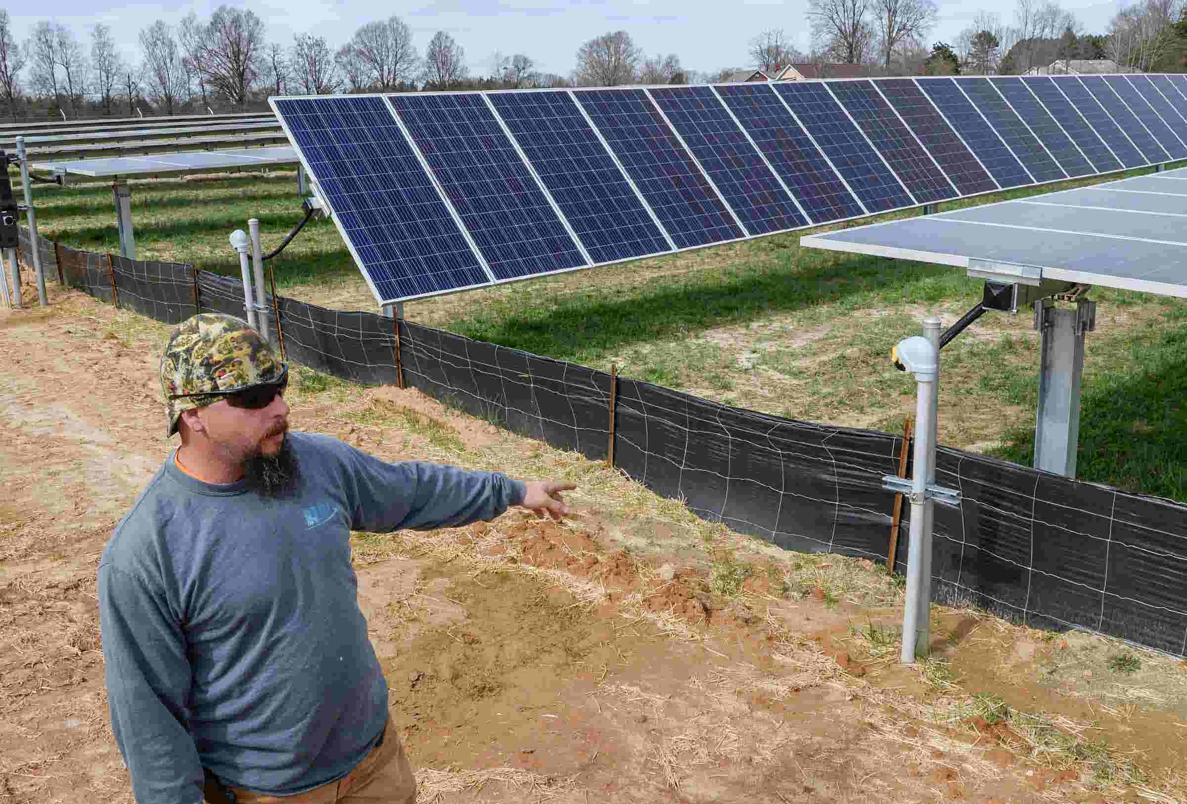 With help from tax breaks, Anderson pushes ahead with solar farms