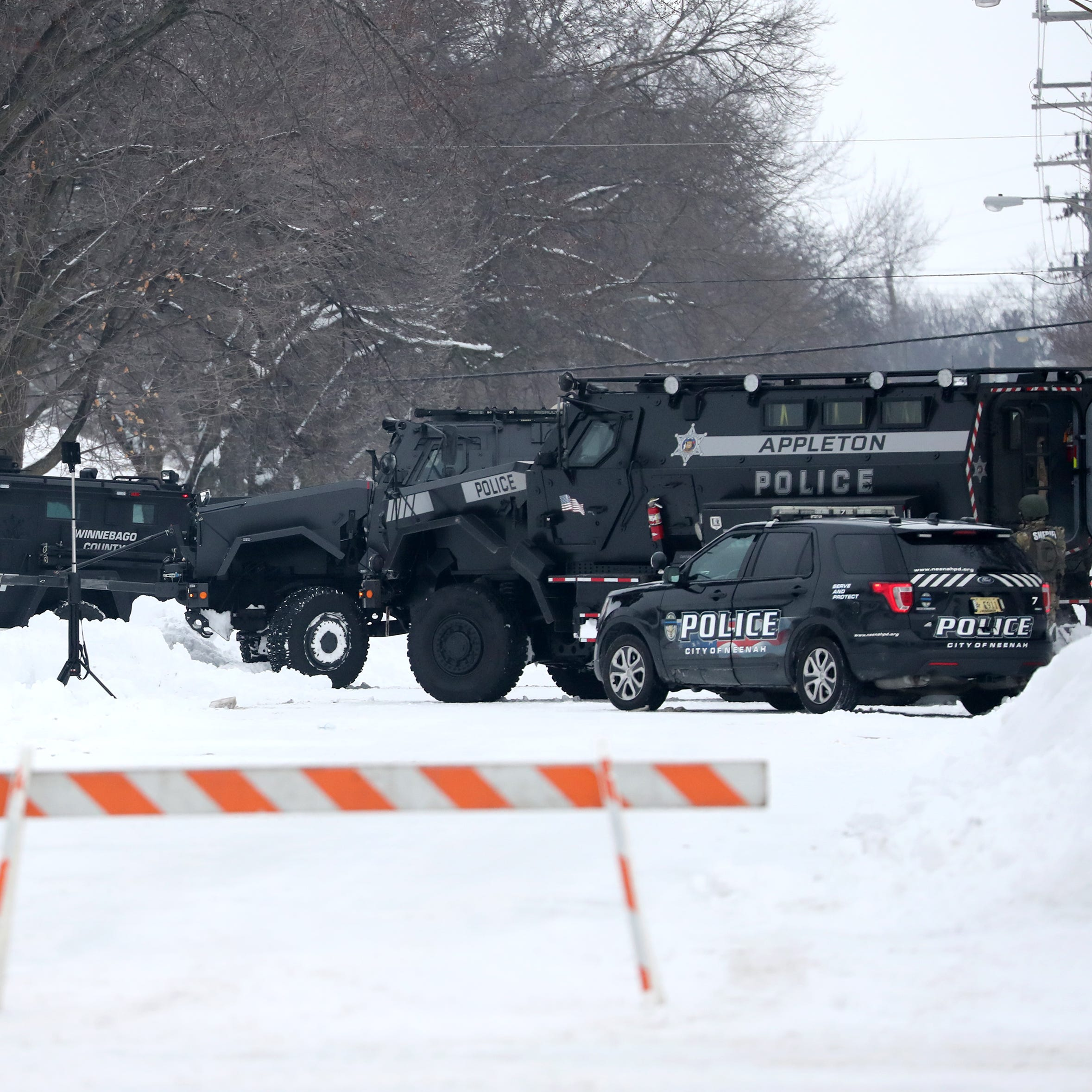 Neenah police: Armed suspect arrested after barricading himself inside home