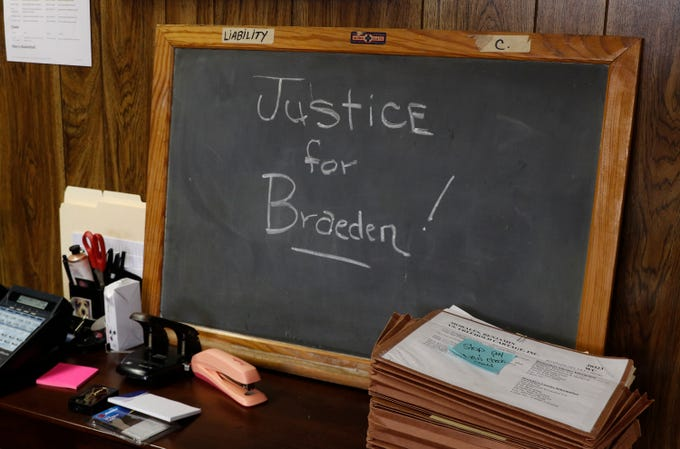 Former Neptune football player Braeden Bradforth died playing at a junior college in Kansas last summer. Braeden's mother, JoAnne Atkins-Ingram, and Avon attorney Jill Greene have recently returned from Kansas, after being stonewalled since last summer by the school and local authorities.     Avon-By-The-Sea, NJ Wednesday, February 13, 2019