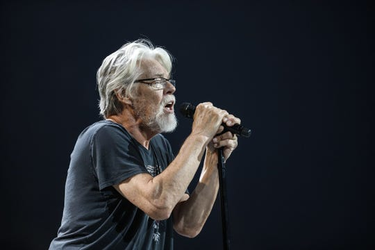 Bob Seger and The Silver Bullet Band perform on stage in 2017. Seger returns to the PNC Bank Arts Center in Holmdel June 1.