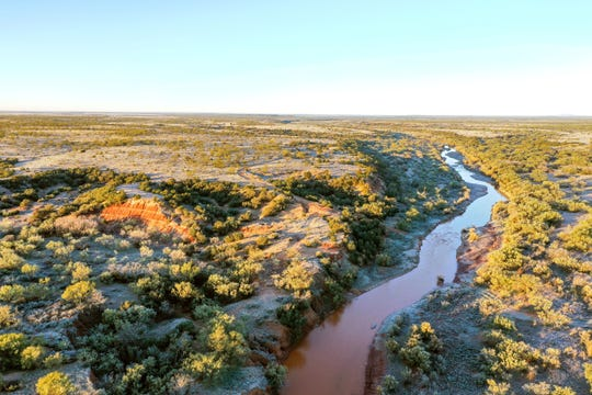 Flat Top Ranch encompasses 41,000-plus acres and includes seven miles of the Double Mountain Fork of the Brazos River.