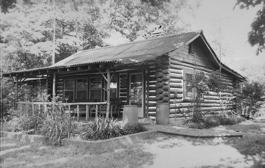 The Thomas Wolfe Cabin in East Asheville, where famed author Thomas Wolfe spent the last summer of his life in 1937.
