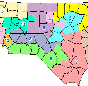 NC gerrymandering: Turner, McGrady lead reform effort on redistricting