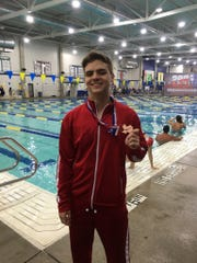 IWA's Lucas Vanzella Beltrami helped the Angels earn three medals at the TAPPS State Swim Meet and was named the Caller-Times High School Athlete of the Week for Feb. 4-9.