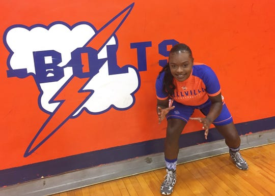 Millville's Diana Johnson will be among a field of more than 150 girls competing in the first-ever NJSIAA South Regional girls wrestling tournament at Red Bank High School on Sunday.