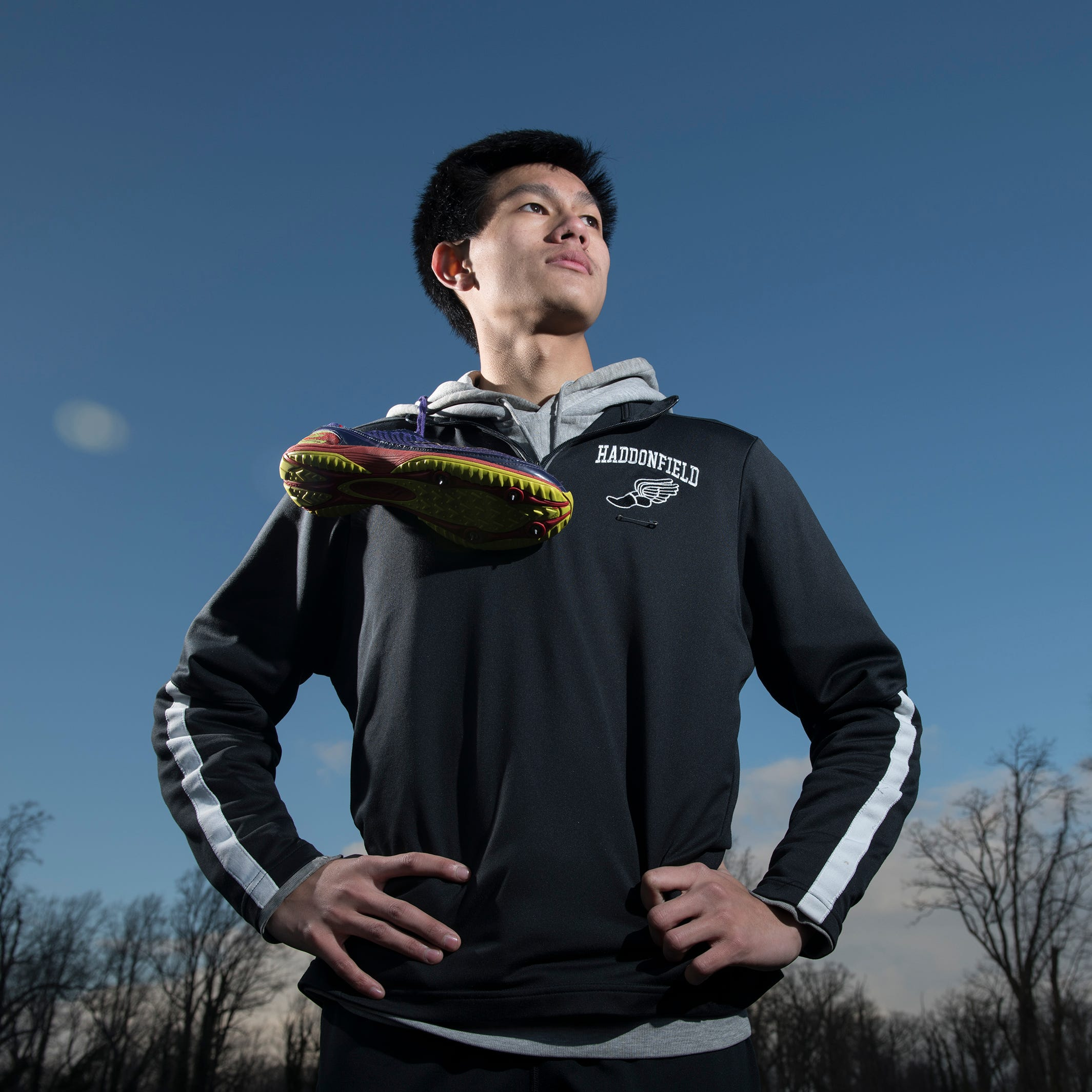 Haddonfield's Zachariah Murray fought cancer to become one of top runners in state