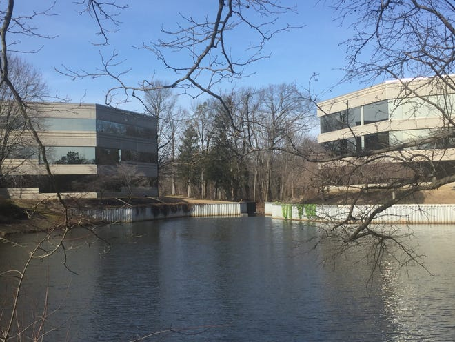 Corcentric, a business services firm, has moved its headquarters to the Woodland Falls Corporate Center.