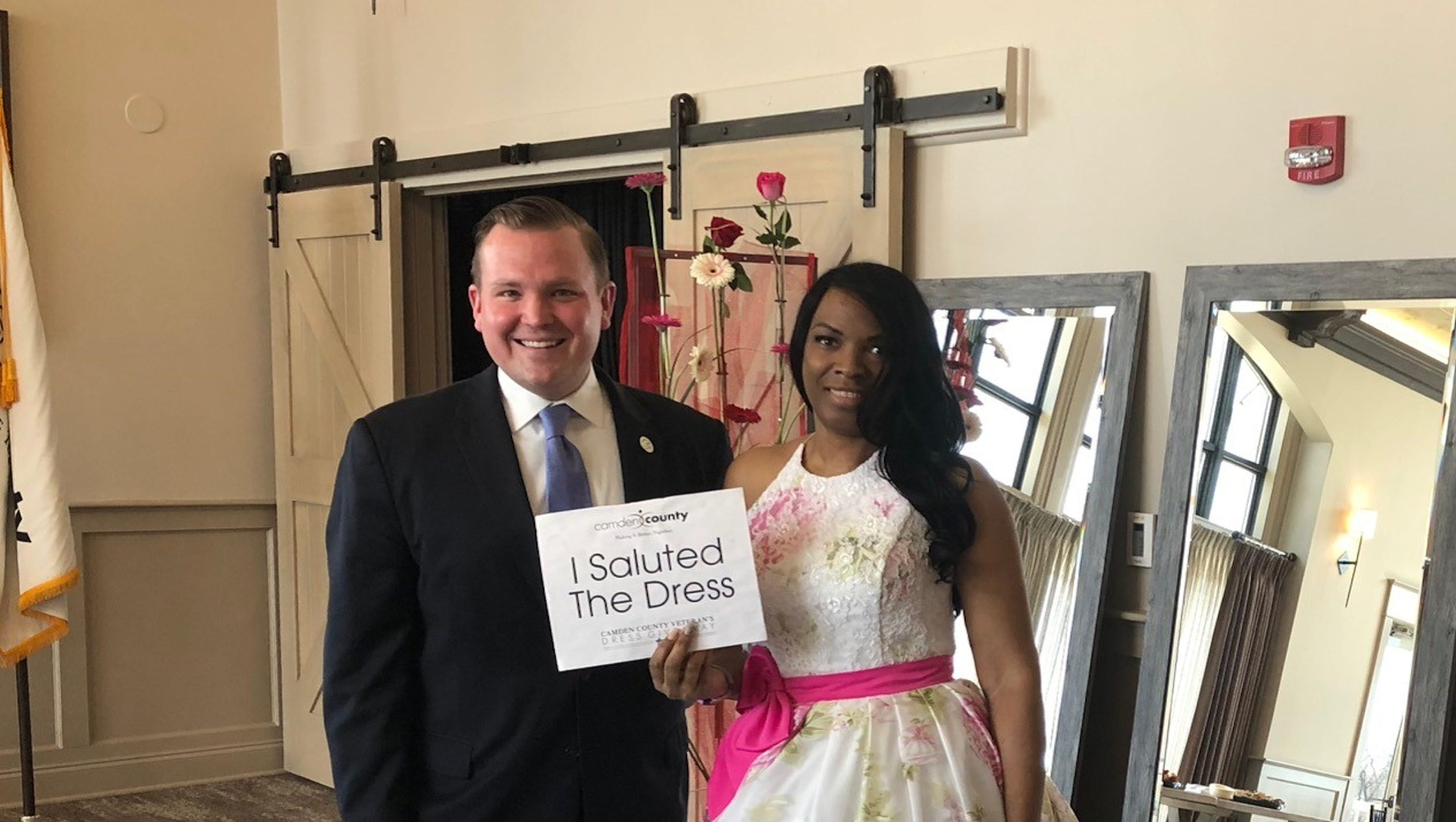 a6751a67a677 High-end bridal gowns from bankrupt store donated to brides with veteran  ties in Camden County