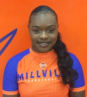 Millville's Diana Johnson will be among a field of more than 150 girls competing in the first-ever NJSIAA South Regional girls' wrestling tournament at Red Bank High School on Sunday.
