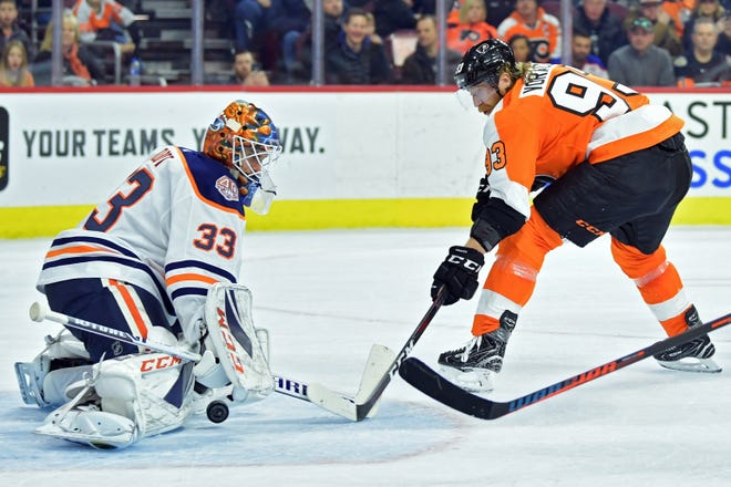 Edmonton Oilers goalie Cam Talbot has served as a mentor to Flyers rookie Carter Hart. According to reports, the Flyers are considering trading for Talbot.