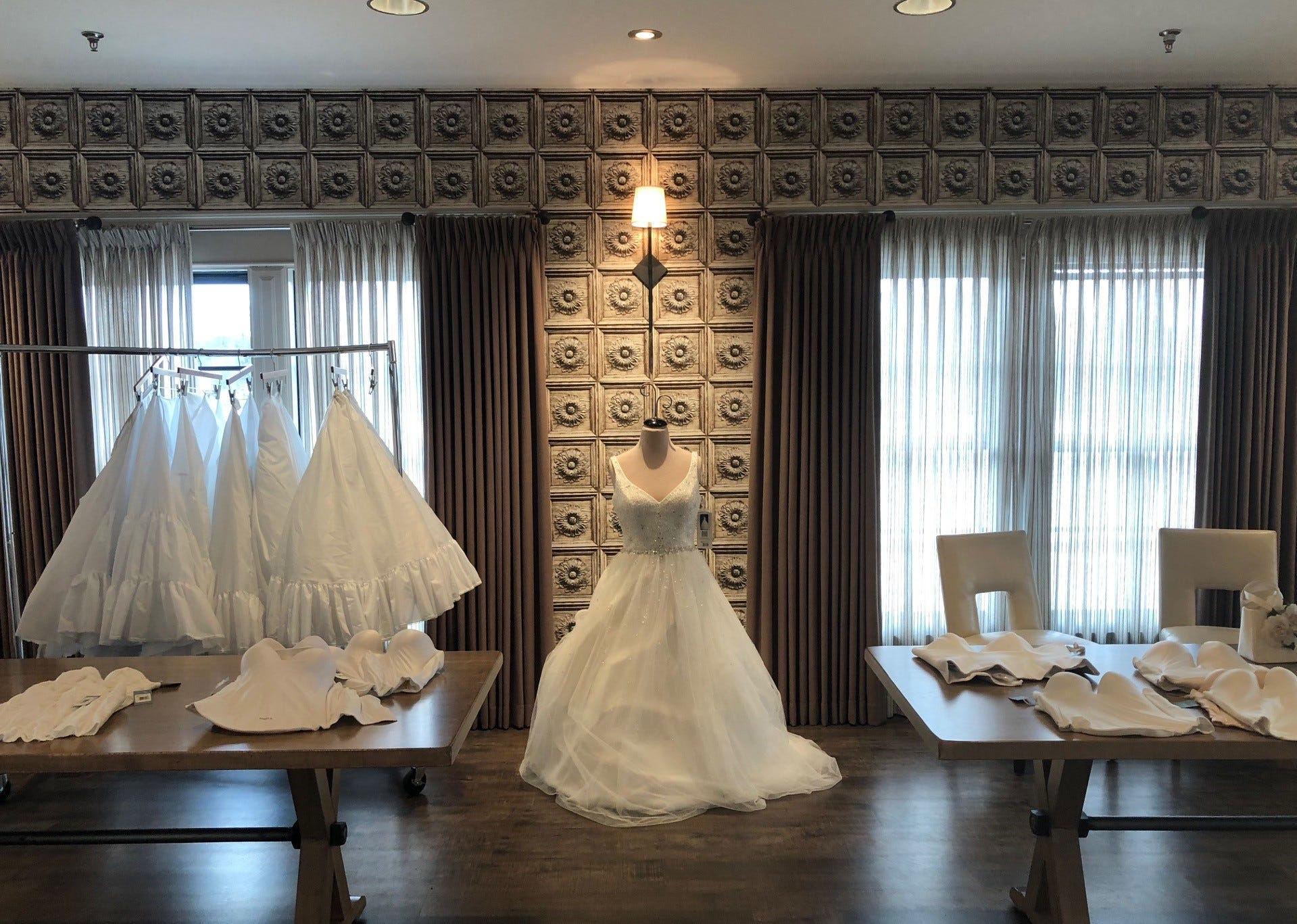 High End Bridal Gowns From Bankrupt Store Donated To Brides With Veteran Ties In Camden County