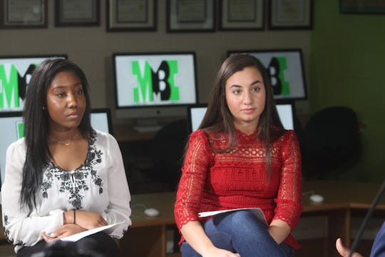 Simone Scott and Lana Saqer are Mason High School journalism students.