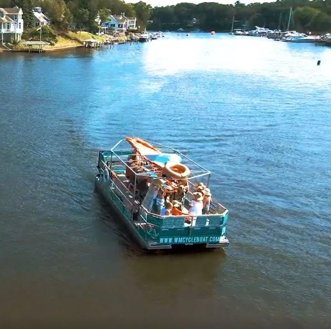 Cincinnati area's new floating pedal pub now booking