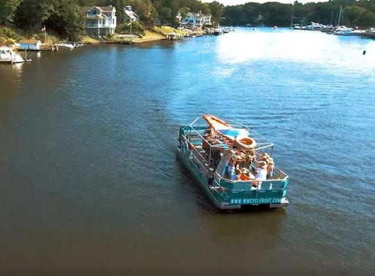 Cincinnati Cycleboat will launch on the Ohio River over Memorial Day weekend.