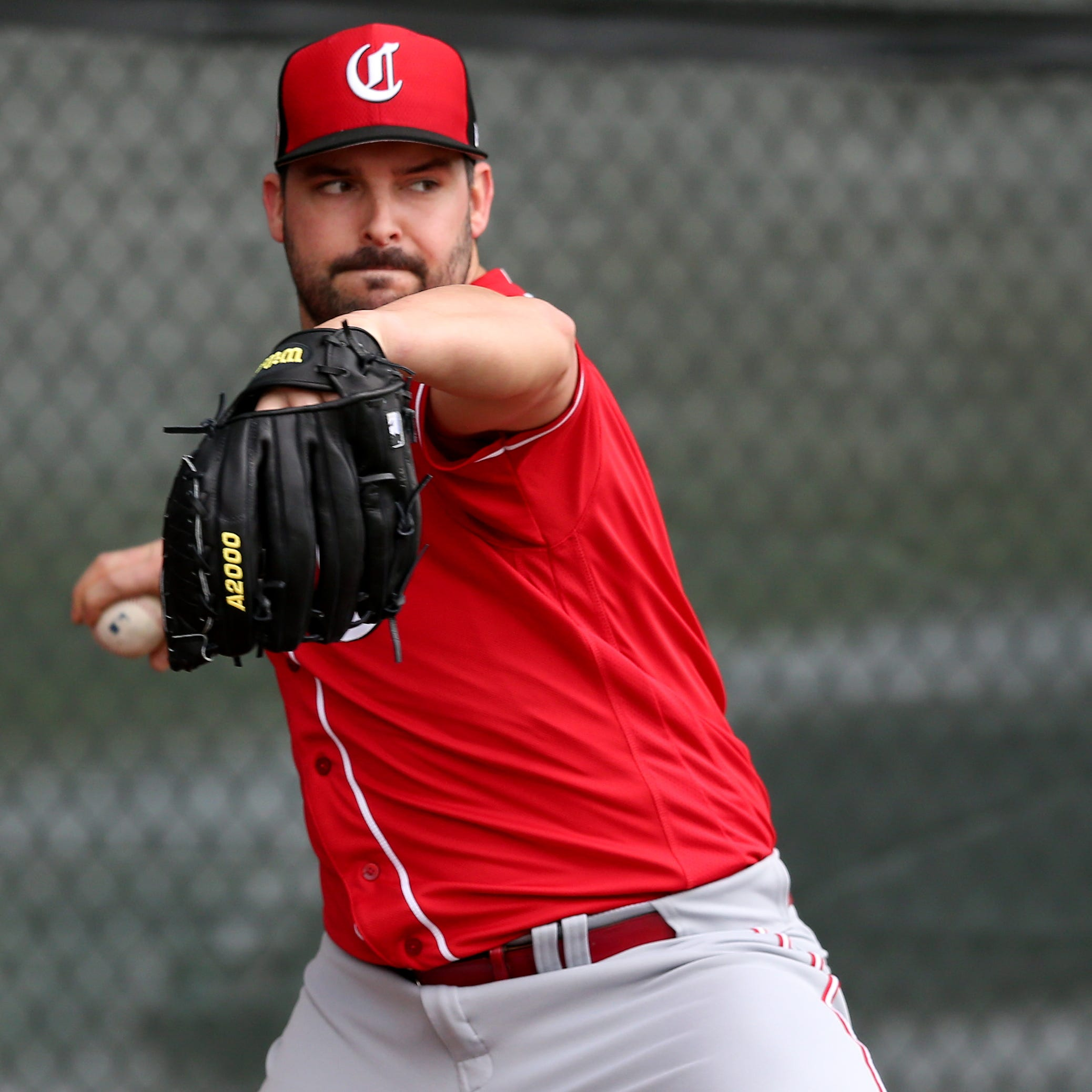Tanner Roark continues strong spring in Cincinnati Reds' 6-1 win over Texas Rangers