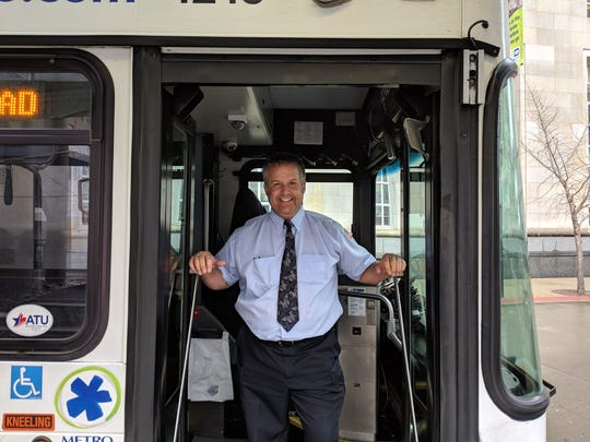 Marten Zimmerman has been a Metro coach operator for five years.