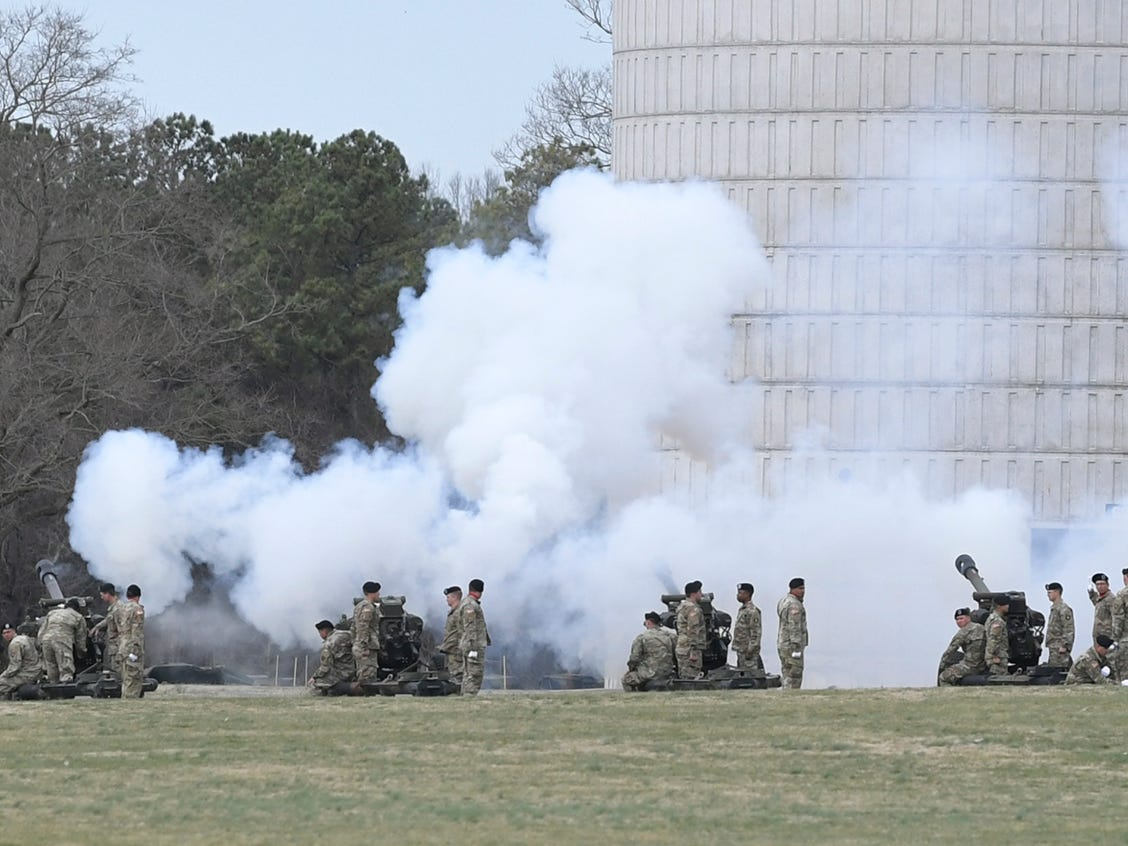 101st Airborne Division (Air Assault) and Fort Campbell Division Change of Command ceremony was held at  Fort Campbell, KY on Thursday, Feb. 14, 2019.