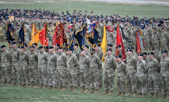 Over 26,800 soldiers were stationed at Fort Campbell in fiscal year 2016, with 8,000 living on post and nearly 17,000 living off post in Tennessee, a recent government economic report found.