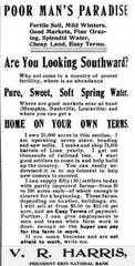 """A 1904 advertisement from """"North & South: Devoted to the Industrial and Agricultural Resources of the South."""""""