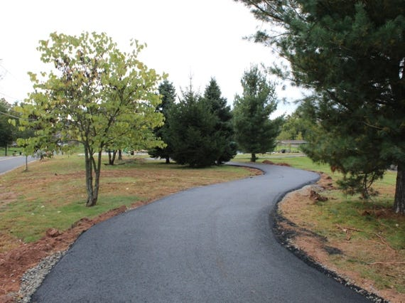 Revenue generated from recent Piscataway redevelopment projects also helped to fun several improvements to Perrine Park, including this walking path.