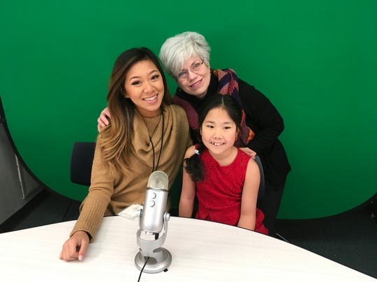 Tami Quach, Mary Sfiris', ALT teacher and Jill Lin