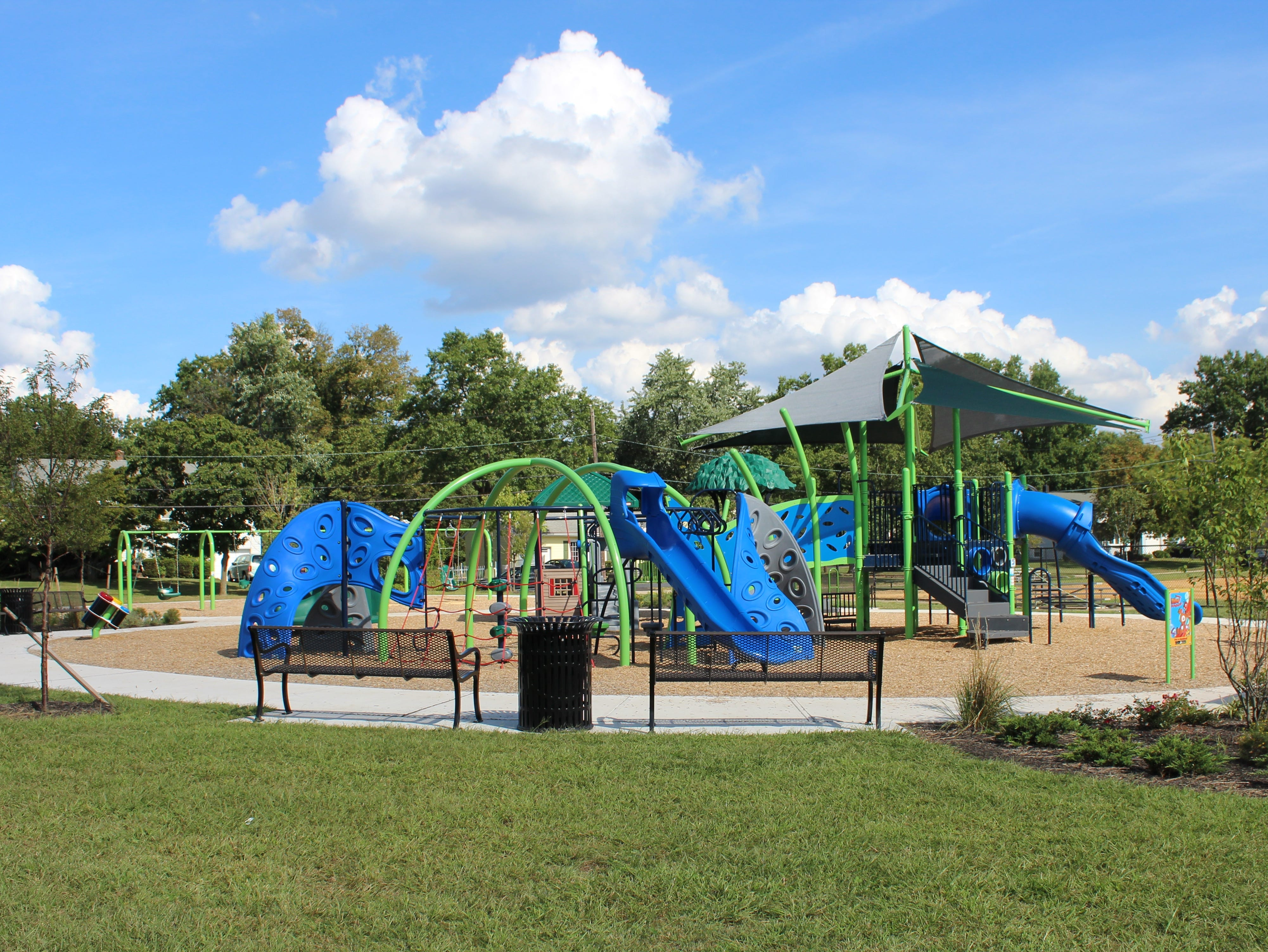 Revenue generated from recent Piscataway redevelopment projects also helped to fun several improvements to Perrine Park, including this playground.
