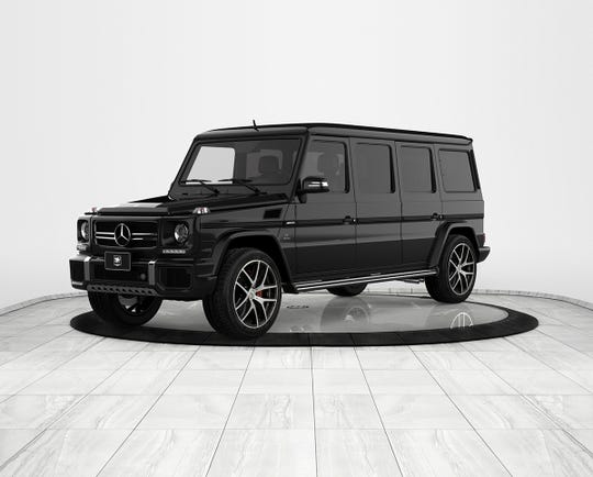 The INKAS Armored Mercedes-Benz G63 AMG which cost $1.13 million.
