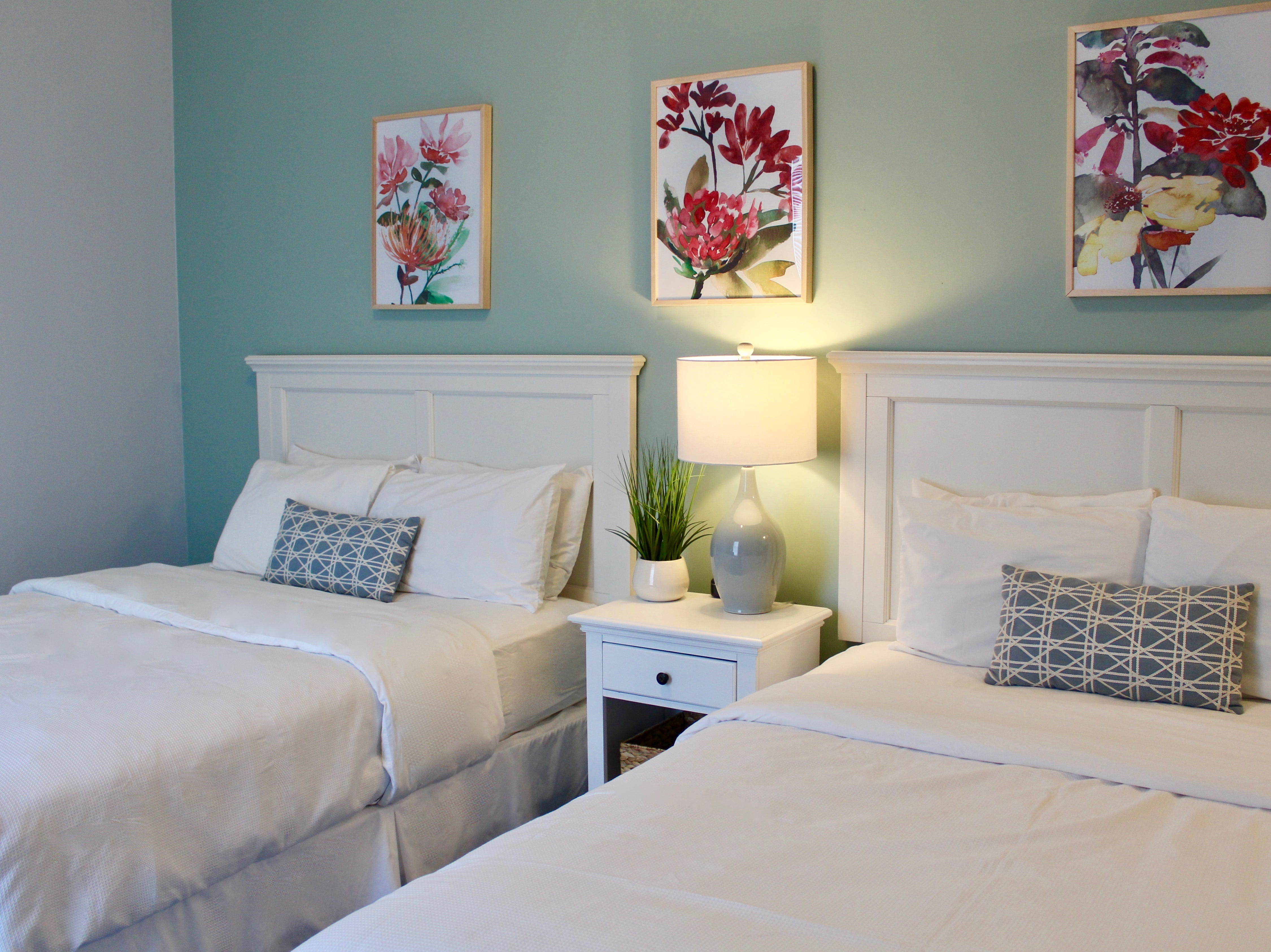 Pictured is one of the newly renovated rooms at Island House Hotel. All 90-plus rooms in the hotel are being renovated before the May 1, 2019 the start of the 2019 season. About half of the rooms are complete.