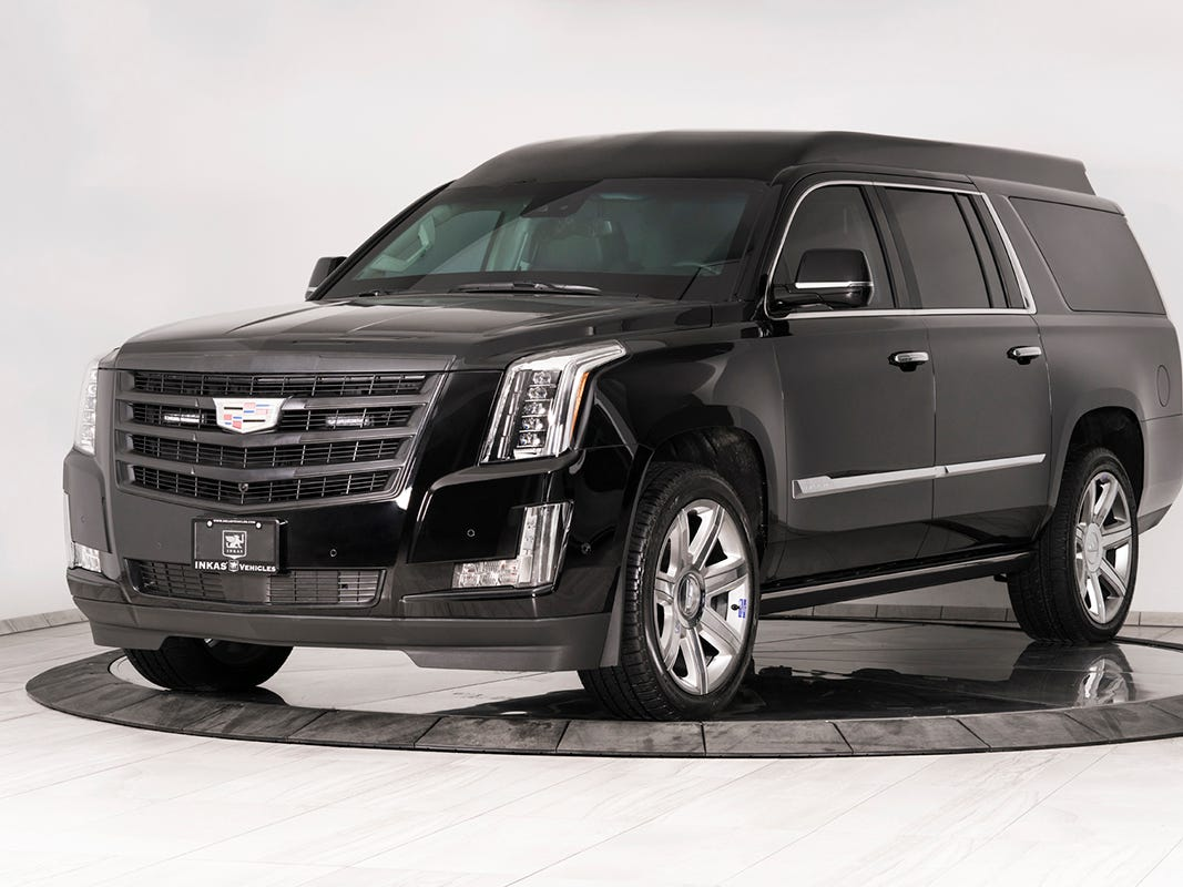 The 2019 Armored Cadillac Escalade ESV by INKAS