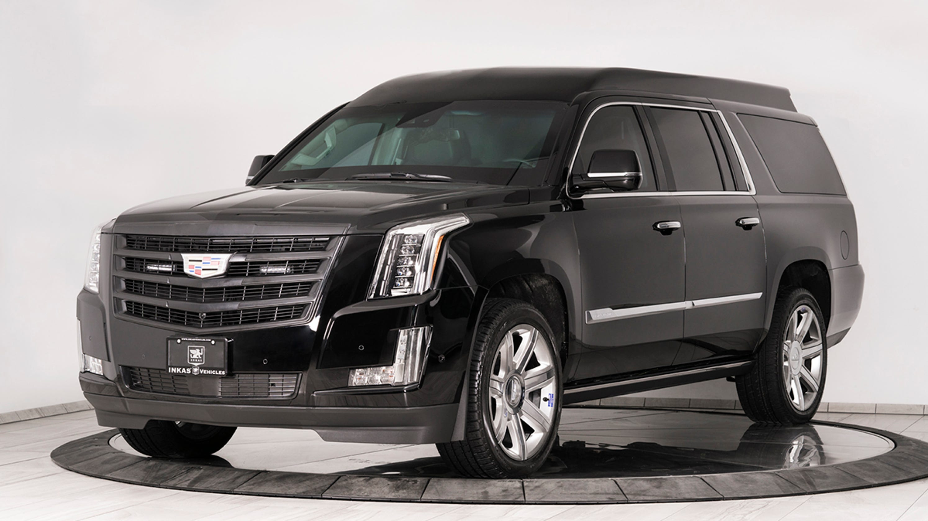 500k Bulletproof Souped Up Cadillac Escalade Built For Rich And Famous