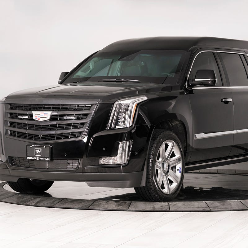 $500K bulletproof, souped-up Cadillac Escalade built for rich and famous