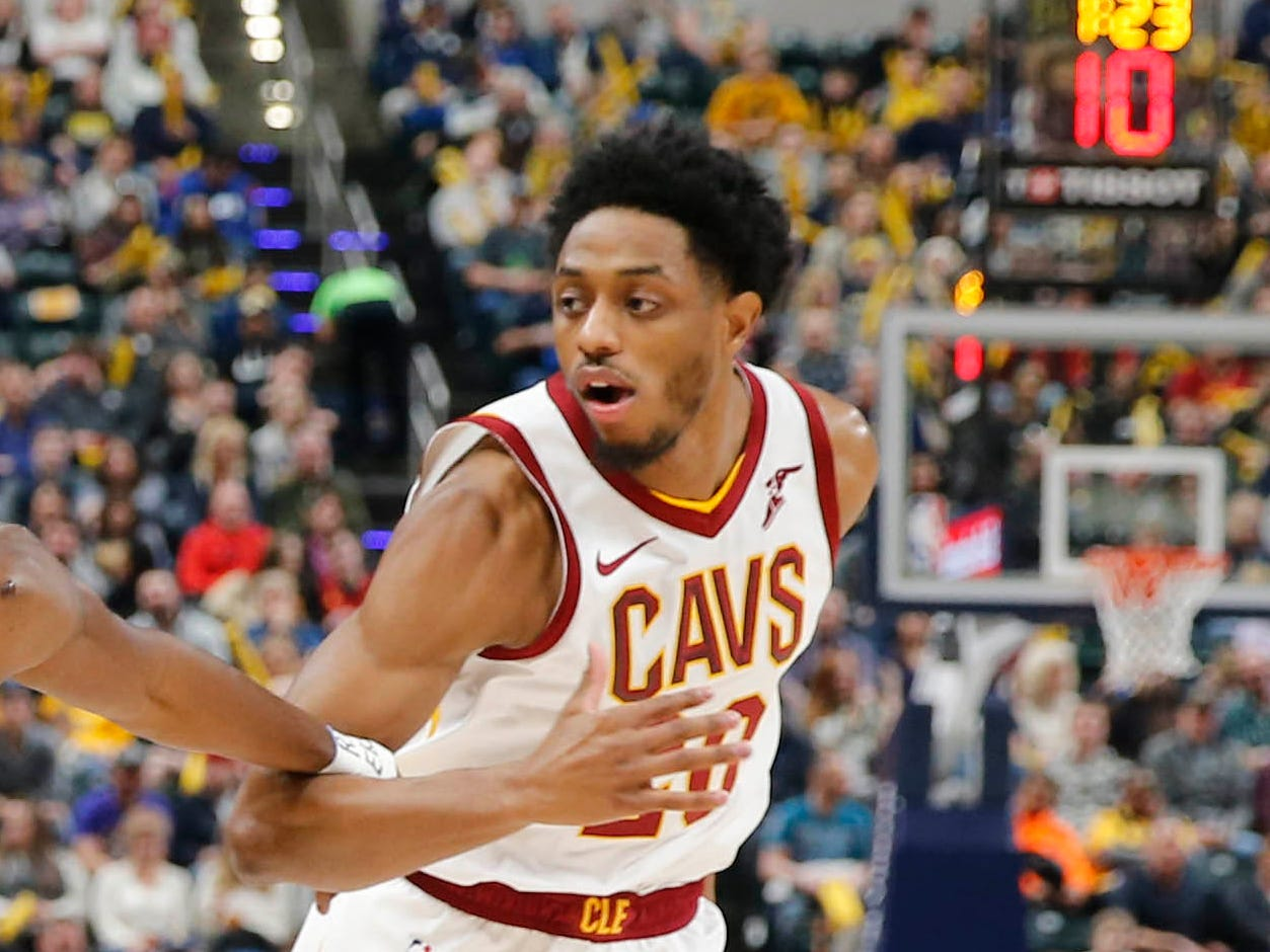 Cleveland Cavaliers guard Brandon Knight.