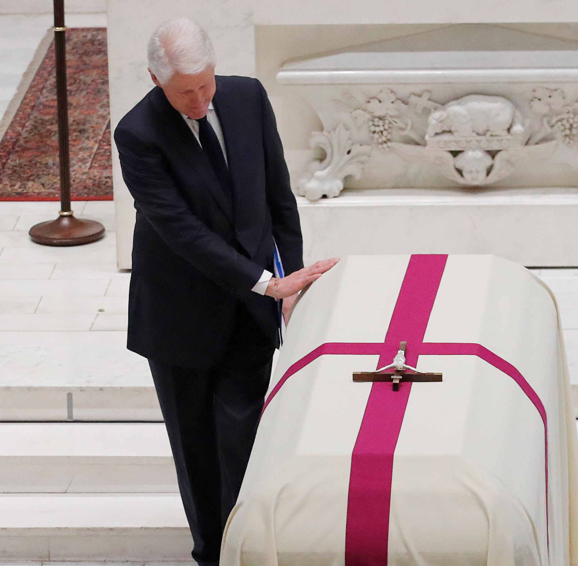 Bill Clinton at John Dingell funeral: He was a 'world-class doer'
