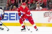 Red Wings forward Gustav Nyquist has 47 points, including 33 assists, in 57 games.