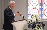 Former President Bill Clinton eulogizes the late John Dingell at a D.C. funeral mass for the long-serving congressman.