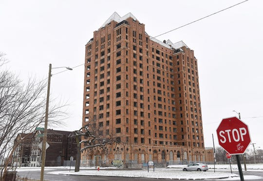 The Lee Plaza building at 2240 W. Grand Blvd. in Detroit is seen in this Dec. 11, 2017 file photo.