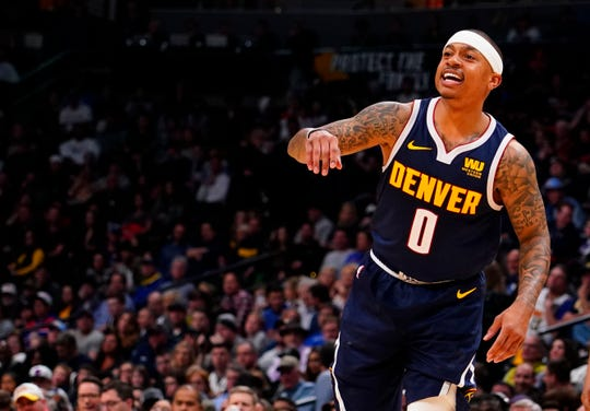 Isaiah Thomas' last NBA game was March 22 with the Lakers before undergoing an arthroscopic procedure to fix his troublesome hip.